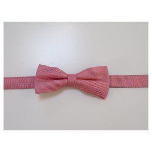 DKNY pink silk bow tie